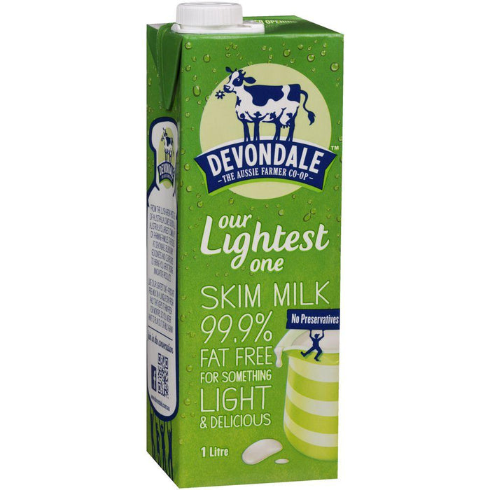 a Devondale Skim Milk Uht 12 x 1LTR for 21.12