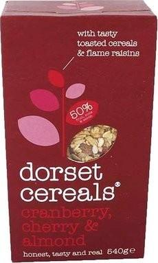 a Dorset Cereal Cranberry Cherry Almond 8 x 540 g for 69.87