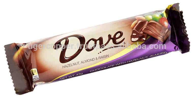 a Dove Almond/Raisin/Hazelnut 12 x 43 g for 17.28