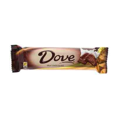 a Dove Milk Chocolate 12 x 43 g for 17.28