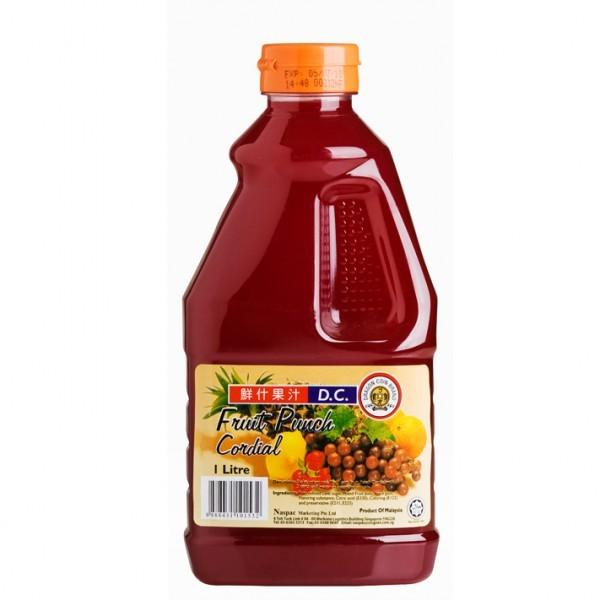 a Dc Fruit Punch Cordial 6 x 1LTR for 16