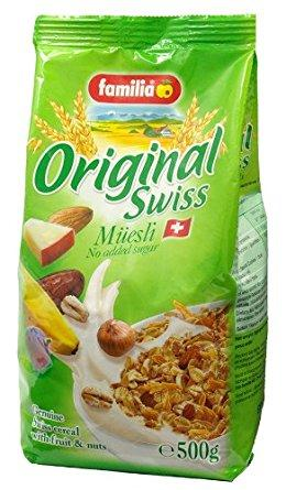 a Familia Swiss Muesli (No Sugar) 12 x 500 g for 100.8