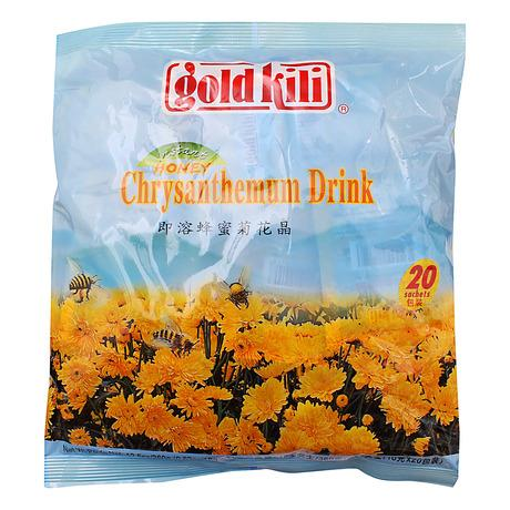 a Goldkili Chrysanthemum Honey Tea 24 x 20'S x 18 g for 99.2