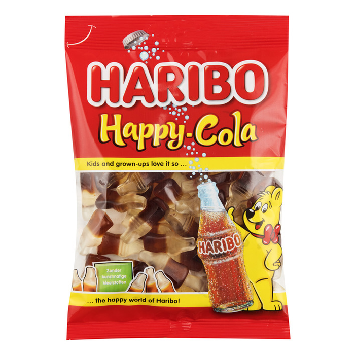 a Haribo Happy Cola Bottle 6 x 1 kg for 91.2