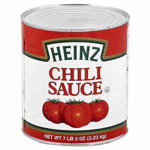 a Heinz Chilli Sauce (A10) 6 x 3.3 kg for 70
