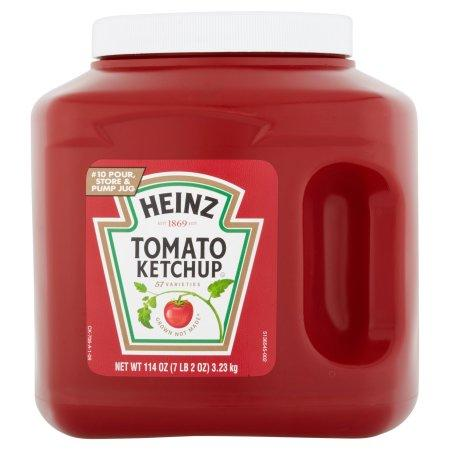 a Heinz Tomato Ketchup (A10) 6 x 3.23 kg for 48