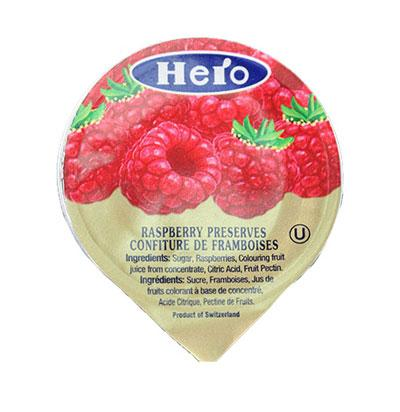 a Hero Portion Jar Raspberry Jam 144 x 28.3 g for 86.4