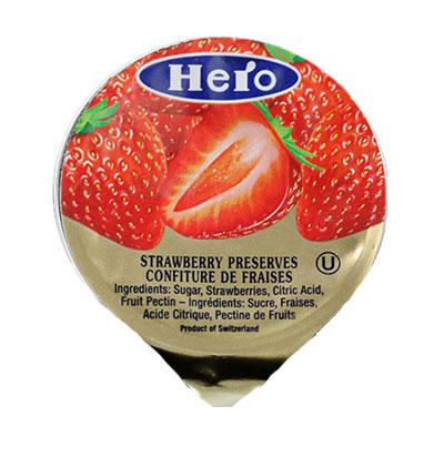a Hero Portion Strawberry 216 x 14.2 g for 50.4