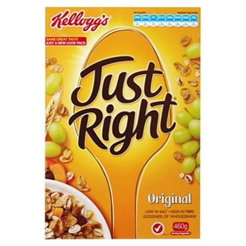 a Kellogg'S Just Right 12 x 460 g for 83.84