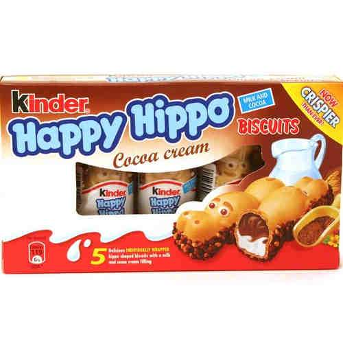 a Kinder Happy Hippo 10 x 5'S x 103.5 g for 26.67