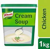 a Knorr Cream Of Chicken (Pro) 6 x 1 kg for 88.63