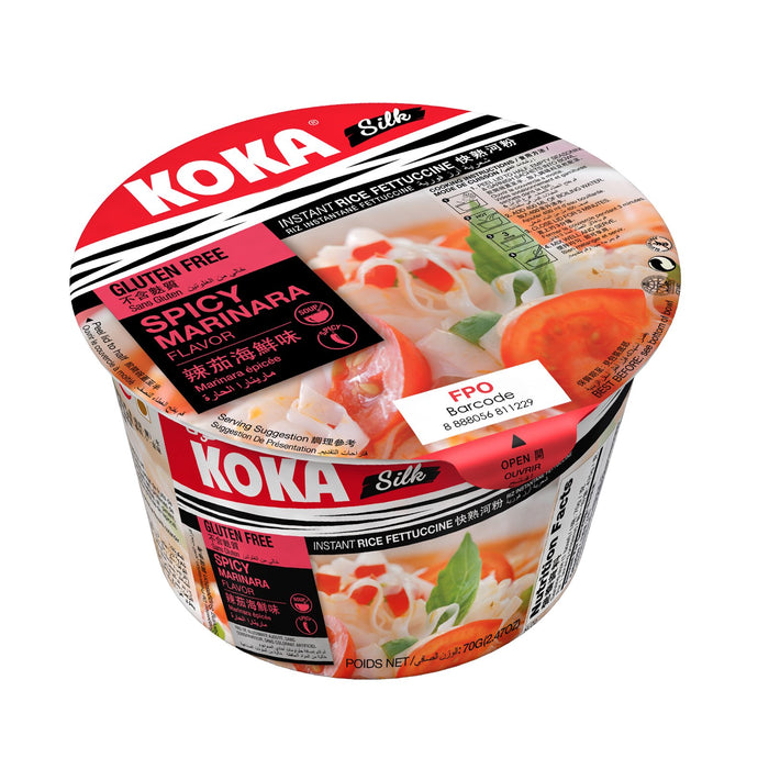 a Koka Bowl R/N No Msg Spicy Marinara 12 x 70 g for 18.24