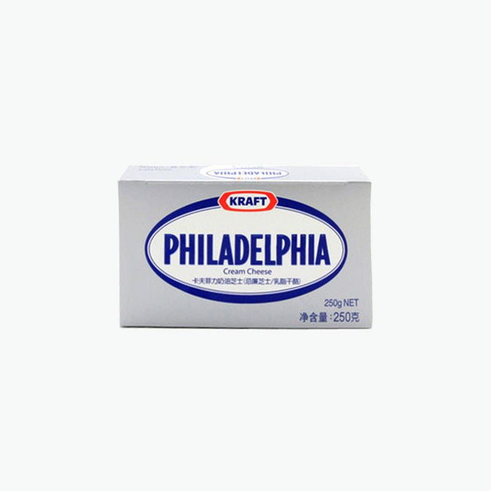 a Kraft Philly Cream Cheese Plain Soft 12 x 250 g for 64.96