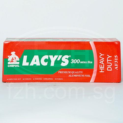 a Lacy'S Aluminium Foil (315) Short 6 x 30CM x 300M for 200