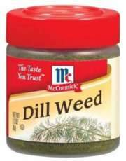 a Mccormick Dill Weed 6 x 8 g for 35.04