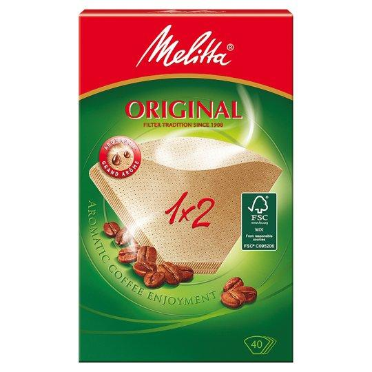 a Melitta Filter Paper 1X2 10 x 10 x 40'S for 220