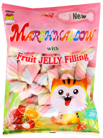 a Marshmallow Fruit Jelly Fillin (2Cm) 12 x 225 g for 12.48