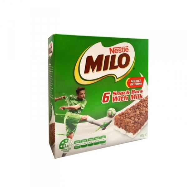 a Milo Original Snack Bar 12 x 6 x 21 g for 71.52
