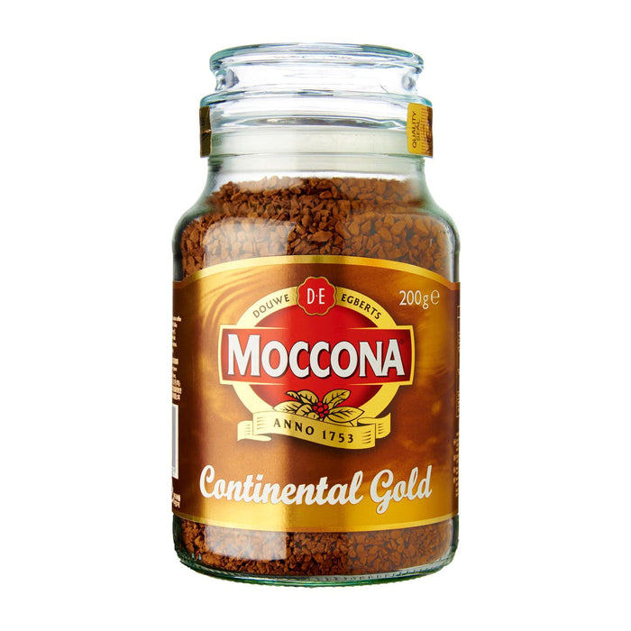 a Moccona Continental Gold Coffee 12 x 200 g for 176