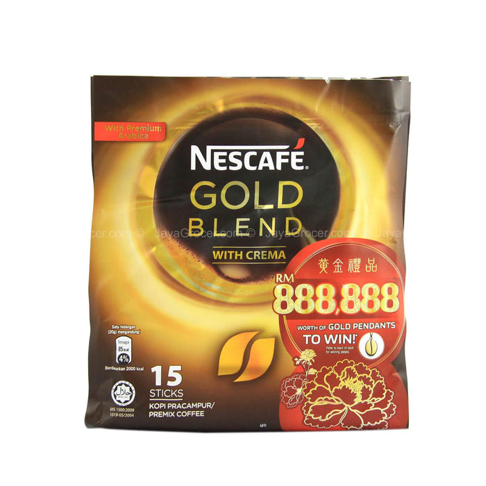 a Nescafe 3 In 1 Gold 18 x 15'S x 20 g for 175.68