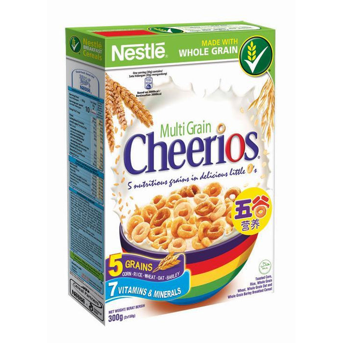 a Nestle Cheerios Cereal 18 x 300 g for 109.2