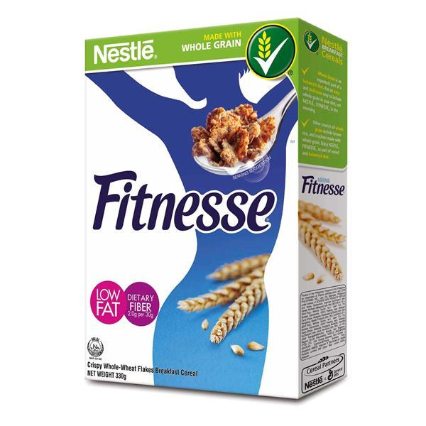 a Nestle Fitness Cereal 18 x 330 g for 130.08