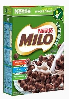 a Nestle Milo Breakfast Cereal 18 x 330 g for 109.2
