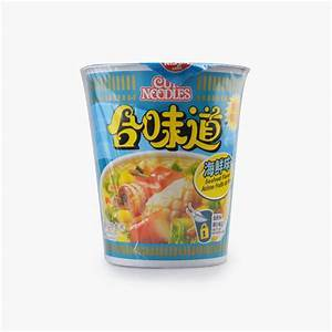 a Nissin Cup Noddles - Seafood 24 x 75 g for 38