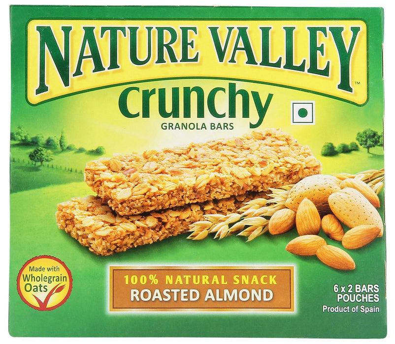 a Nv Granola Bar Roasted Almond 12 x 252 g (6'S) for 64.8