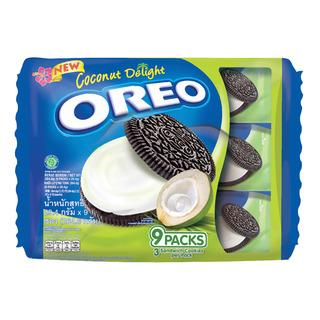 a Oreo (3'S) Coconut Single Serve 12 x 9 x 29.4 g for 25.44