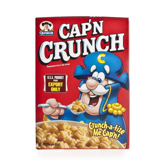 a Quaker Captain Crunch Original 12 x 226 g for 57.23