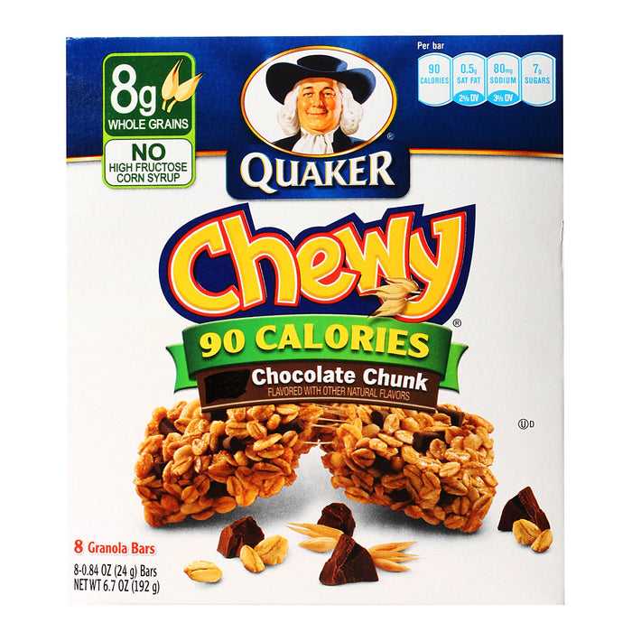 a Quaker Gb Choc Chunk 12 x 8 x 24 g for 74.72