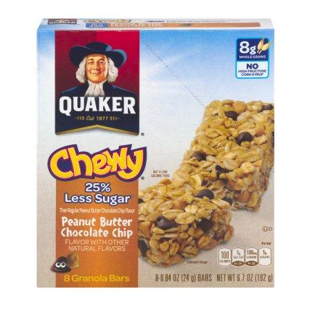 a Quaker Gb Peanut Butter Choc Chips 12 x 8 x 28 g for 74.72