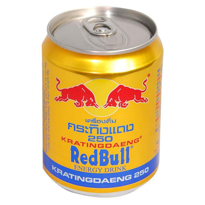 a Red Bull (Thai) 24 x 250ML for 18.67