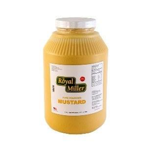a Royal Miller American Mustard 4 x 1 gAL for 56