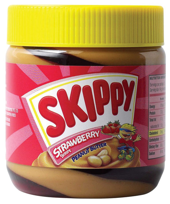 a Skippy Peanut Butter Strawberry Strips 12 x 350 g for 62.08