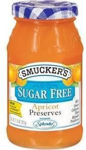 a Smuckers Apricot Jam-Sugar Free 8 x 361 g for 49.07