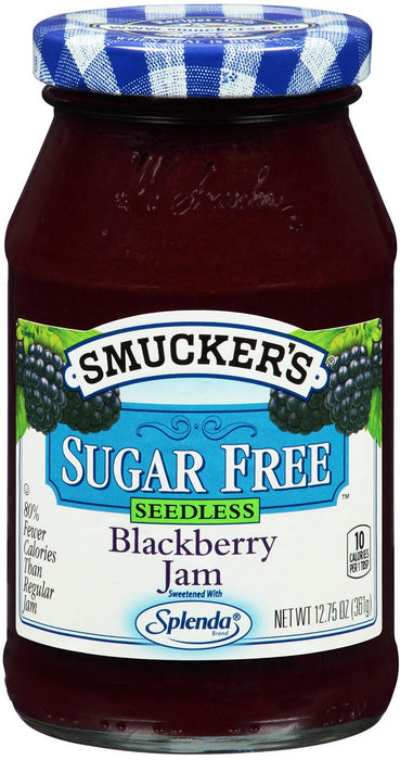 a Smuckers Straw'B Jam-Sugar Free 8 x 361 g for 49.07