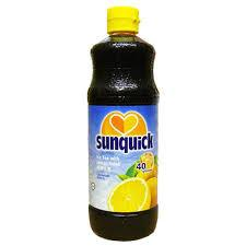 a Sunquick Ice Lemon Tea 6 x 840ML for 42.08