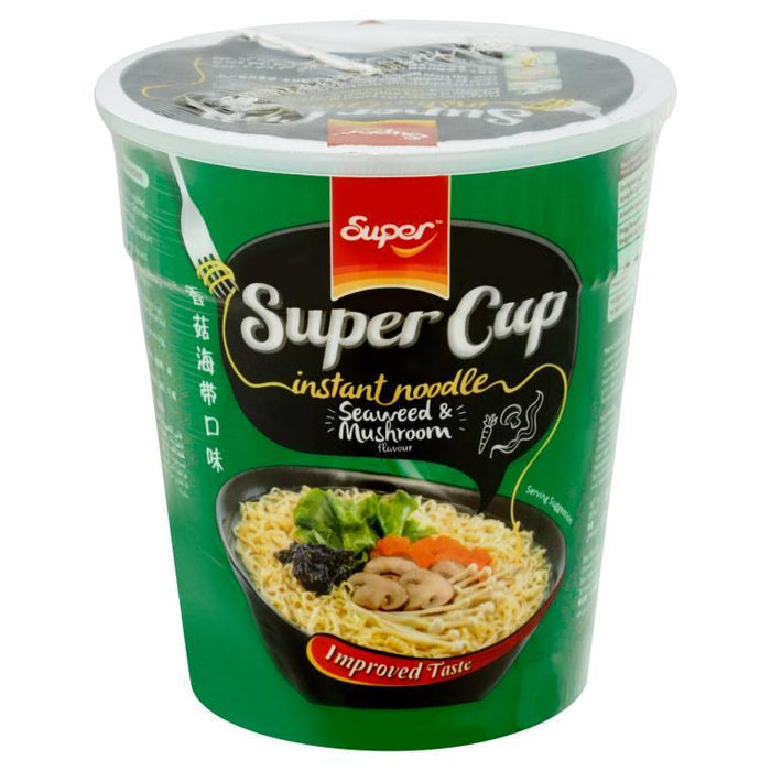 a Super Cup Noodles - Seaweed/Mushroom 24 x 65 g for 19.2