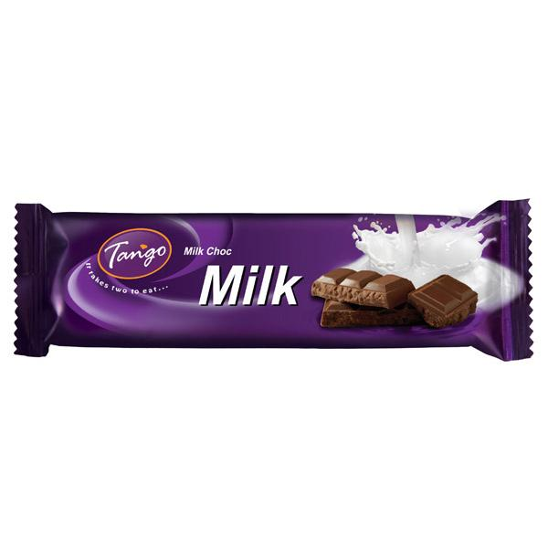 a Tango Milk Chocolate 20 x 40 g for 10.8