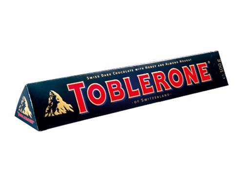 a Toblerone Dark Choc (Bittersweet) 20 x 100 g for 50.67