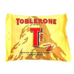 a Toblerone Milk Tiny 20 x 200 g (25'S) for 94.13