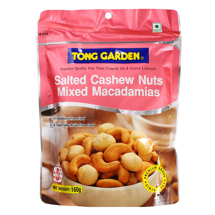 a Tong Garden Salted Cashews W/ Macadamia 12 x 35 g for 16.8