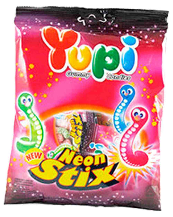 a Yupi Neon Stix Worm (10'S) 24 x 120 g for 35.2