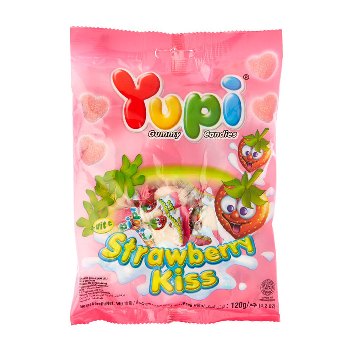 a Yupi Strawberry Kiss (50'S) 24 x 120 g (50'S) for 35.2