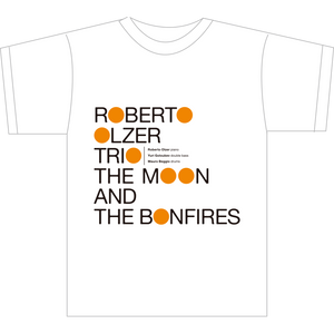 """THE MOON AND THE BONFIRES"" WHITE T-SHIRTS"