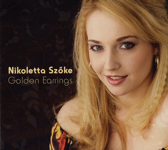 GOLDEN EARRINGS - NIKOLETTA SZOKE