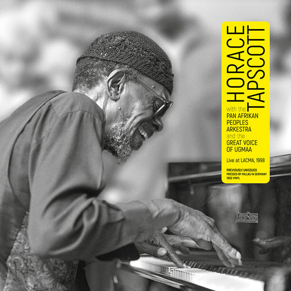 LIVE at LACMA, 1998 (LP) - HORACE TAPSCOTT with THE PAN AFRIKAN PEOPLES ARKESTRA and THE GREAT VOICE OF UGMAA