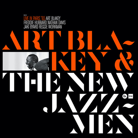 LIVE IN PARIS '65 (LP) - ART BLAKEY & THE NEW JAZZ MEN